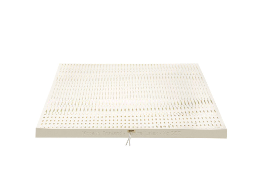 Theptex hot/heating and cool/cooling latex mattress to control temperature