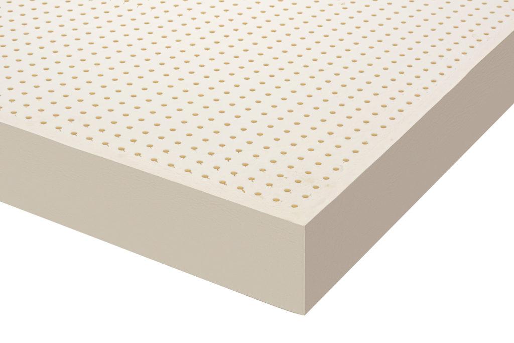 Monozone latex mattress and topper